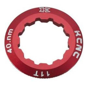 KCNC Shimano Cassette Lockring 10/11/12-speed 11T, red
